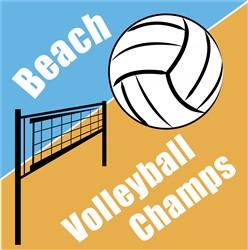 Beach Volleyball print art