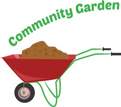 Community Garden print art