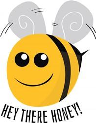 Hey There Honey print art