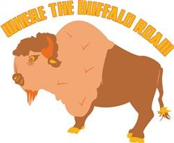 Buffalo Roam print art