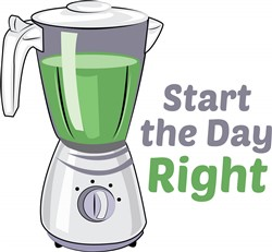 Start Day Right print art