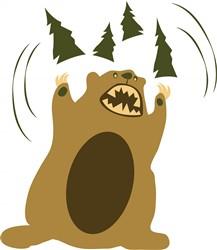Angry Bear print art