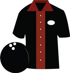 Bowling Shirt print art