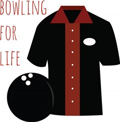 Bowling For Life print art