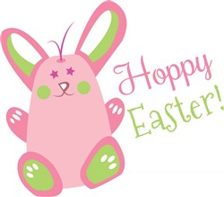 Hoppy Easter print art