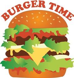Burger Time print art