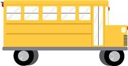 School Bus print art