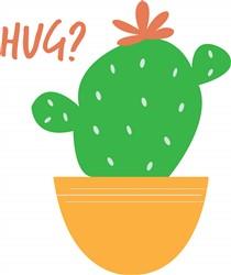Cactus Hug print art