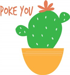 Poke You print art