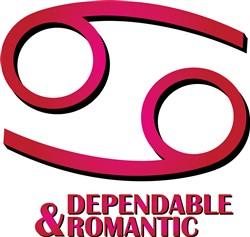 Dependable & Romantic print art