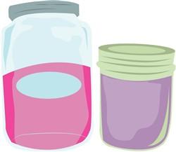 Canning Jars print art
