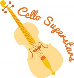 Cello Superstars print art
