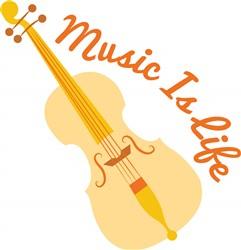 Music Is Life print art