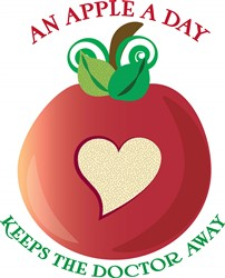Apple A Day print art