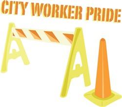 City Worker print art