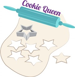 Cookie Queen print art