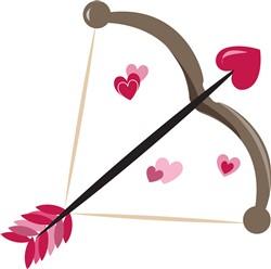 Valentine Bow print art