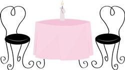 Dinner Table print art