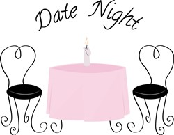 Date Night print art
