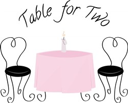 Table For Two print art