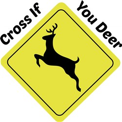 If You Deer print art