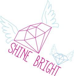 Shine Bright print art