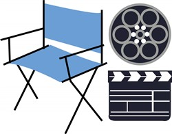 Movie Director print art