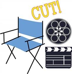 Movie Cut print art