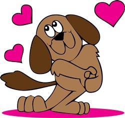 Puppy Love print art
