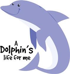 Dolphins Life print art