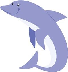 Dolphin print art