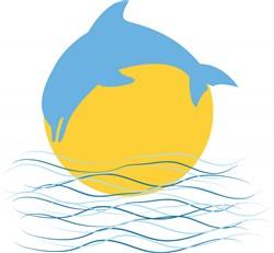 Dolphin Jump print art