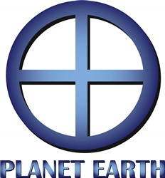 Planet Earth print art