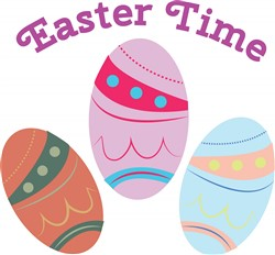 Easter Time print art