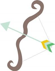 Bow & Arrow print art