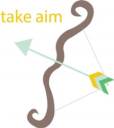 Take Aim print art