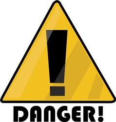 Danger print art