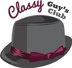 Classy Hat print art
