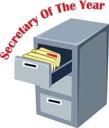 Secretary Of Year print art