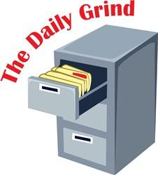 Daily Grind print art