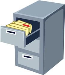 File Cabinet print art