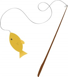 Fishing Pole print art