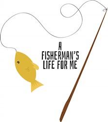 Fishermans Life print art