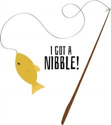 Nibble Pole print art