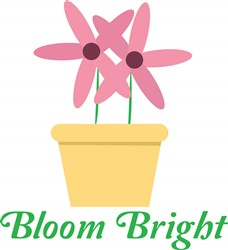 Bloom Bright print art