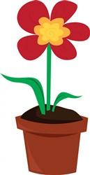 Flower Pot print art