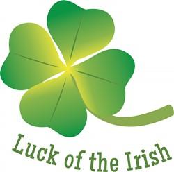 Irish Luck print art