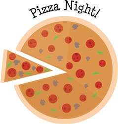 Pizza Night print art