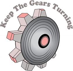 Gears Turning print art