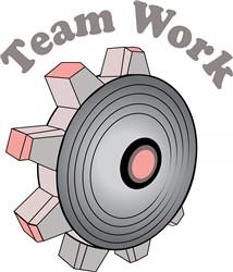 Team Work print art